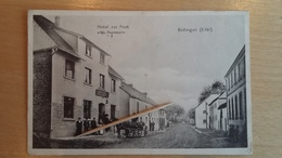 BULLINGEN ( EIFEL ) - Hôtel Zur Post - 1918 - Rare - Büllingen