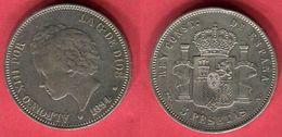 § 5 PESAETAS ALPHONSE XIII  ( KM 700)   TB+ 55 - [ 1] …-1931 : Reino