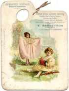 PALETTE PEINTURE HERBORISTERIE BARBEYRON LYBOURNE BAS BIBERON ENFANT BANDONEON Taille 23cmx18cm - Publicités