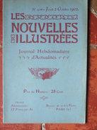 """Les Nouvelles Illustrées N°19 (2 Oct 1902) Catastrophe D'Arleux- Course Château Thierry - Pic Lauguard - """"Biou"""" D'Arbois - 1900 - 1949"""