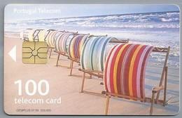 PT.- Telecom Card PT. Portugal. Call Home. Strand. Zee. 2 Scans - Portugal