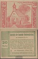 Niederneukirchen Notgeld The Community Nietheneukirchen Uncirculated 1920 20 Bright - Austria