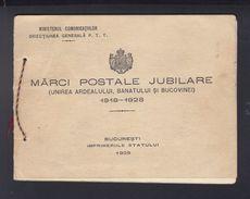 Romania Booklet 1928 - 1918-1948 Ferdinand, Carol II. & Mihai I.