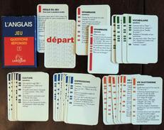 Ancien Jeu De Cartes 5 Familles Éducatif Apprentissage De L'anglais #1 LAROUSSE - Jeux De Société