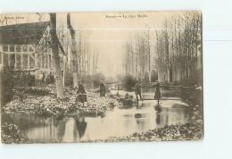 POUSSEY - Le Vieux Moulin Avec Beau Plan Animé - 2 Scans - Ohne Zuordnung