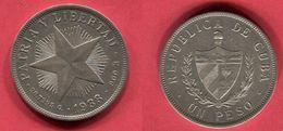 § 1 PESO   (KM 15.2) TB 50 - Cuba