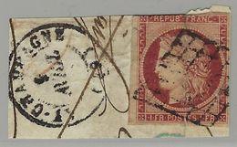 France N° 6 Oblitéré Qualité ST - 1849-1850 Ceres