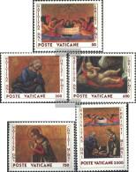 Vatikanstadt 1018-1022 (complete Issue) Unmounted Mint / Never Hinged 1990 Christmas - Vatican