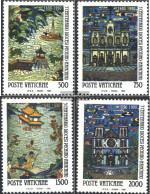Vatikanstadt 1010-1013 (complete Issue) Unmounted Mint / Never Hinged 1990 Diocese Beijing - Vatican