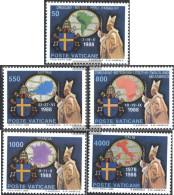 Vatikanstadt 988-992 (complete Issue) Unmounted Mint / Never Hinged 1989 Pope Travels - Vatican