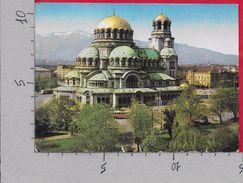 CARTOLINA VG BULGARIA - SOFIA - Eglise Monument Alexandre Newski - 10 X 15 - ANN. 1968 - Bulgaria