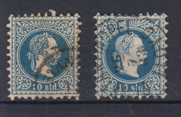 Österreich Michel Kat.Nr. Post In Der Türkei 4 I/II - Used Stamps