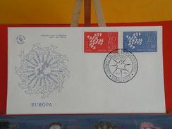 Coté 3€ > Europa CEPT 1961 (L'Amitié Par La Culture) > 16.9.1961 > Charleville (08) > FDC 1er Jour - 1960-1969
