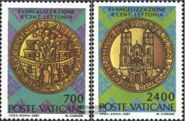 Vatikanstadt 911-912 (complete Issue) Unmounted Mint / Never Hinged 1987 Latvia - Vatican
