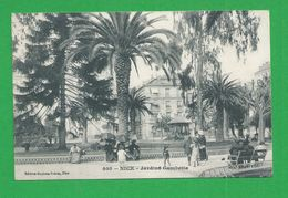 Carte Postales  NICE Jardins Gambetta - Parks, Gärten