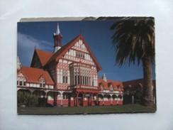 Nieuw Zeeland New Zealand Rotorua Old Bathhouse - Nieuw-Zeeland