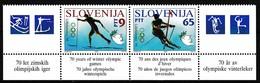 1994, Slowenien, Slovenia,  Mi. 76/77,  MNH **, Olympische Winterspiele, Lillehammer - Slovenië