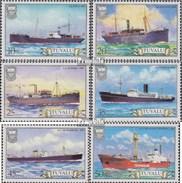 Tuvalu 207-212 (kompl.Ausg.) Postfrisch 1984 Frachtschiffe - Tuvalu