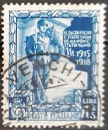 ITALIA 1938 Proclamation Of The Empire. USADO - USED. - 1900-44 Victor Emmanuel III