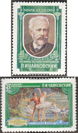 Soviet Union 2062A-2063A (complete Issue) Unmounted Mint / Never Hinged 1958 Tschaikowski-Competition - 1923-1991 USSR