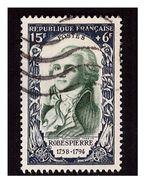 TimbreN° 871 Robespierre Oblitéré - Oblitérés