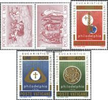 Vatikanstadt 678-679 Couple,680-682 (complete Issue) Unmounted Mint / Never Hinged 1976 Tizian, Congress - Unused Stamps