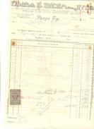 JUDAIKA LES FRERES I NISIM, NIS YEAR 1933 - Factures & Documents Commerciaux