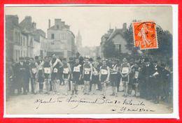 72 - Le MANS- -- Carte Photo Rare - Départ Du Championnat  Des 10 Kuilometre 29 Mai 1910 - Le Mans