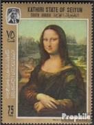 Aden - Kathiri State 122A (completa Edizione) MNH 1967 Leonardo Da Vinci - United Arab Emirates