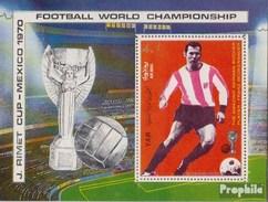 North Yemen (Arab Republic.) Block125 (complete.issue.) Unmounted Mint / Never Hinged 1970 Football-WM, Mexico '70 - Yemen