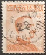 ITALIA 1917 King Victor Emmanuel III. USADO - USED. - 1900-44 Victor Emmanuel III