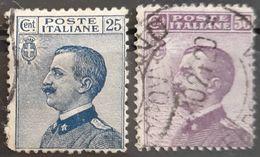ITALIA 1908 King Victor Emmanuel III. USADO - USED. - 1900-44 Victor Emmanuel III