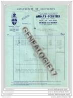 76 197 DEVILLE LES ROUEN  1954 Manufacture AUNAY - FORTIER Succ PLAYOUST - DEFONTAINE - HENNION   Dest ANGELLA - Unclassified