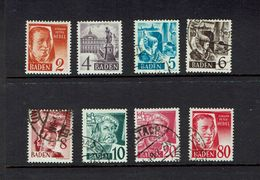 GERMANY,,,Baden...1940's...without Pf - Lots & Kiloware (mixtures) - Max. 999 Stamps