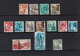 GERMANY,,,Baden...1940's - Lots & Kiloware (mixtures) - Max. 999 Stamps