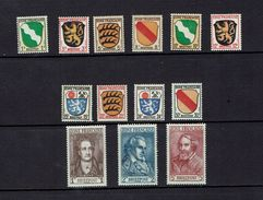 GERMANY,,,French Zone Mid 1940's...mh - Stamps
