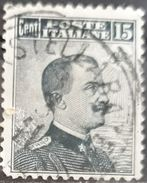 ITALIA 1906 King Victor Emmanuel III - Cobberprint. USADO - USED. - 1900-44 Victor Emmanuel III