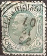ITALIA 1906 King Victor Emmanuel III. USADO - USED. - 1900-44 Victor Emmanuel III