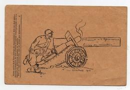 Correspondance Des Armées De La République G Cochet 1916 2ème Emprunt De La Défense Nationale Canon Guerre 14 - Guerra 1914-18