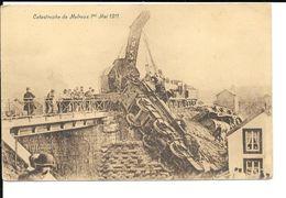 Melreux - Catastrophe De Melreux 1er Mai 1911 - TRAIN / TRAM / GRUE - Ed: A. Billa - Circulée: 1938. - Hotton