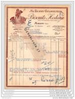 18 231 AUBIGNY CHER 1950 AU BERRY GOURMAND Biscuit HODEAU Place Chazereau Dest BLACHER - Documents