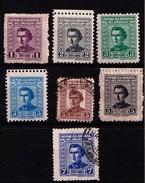 URUGUAY - 1939....1949  - Lotje JOSE ARTIGAS - Gestempeld/oblit./ Gebraucht/used. - ° En * - Uruguay