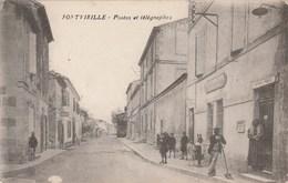 FONTVIEILLE  Postes Et Telegraphes 101E - Other Municipalities