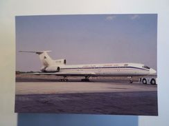 AIRPLANE AIRCRAFT PLANE AVION TUPOLEV TU154M QESHM AIR AIRWAYS AIRLINES PC Z1 - 1946-....: Moderne