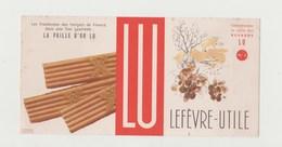BUVARD LU LA PAILLE D' OR LU -  LEFEVRE-UTILE - Cake & Candy