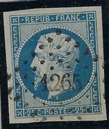 France N° 10 Oblitéré, TB - 1852 Luis-Napoléon