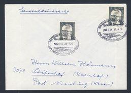 Deutschland Germany 1970 Cover / Brief / Lettre - Deutsche Museum-Eisenbahn / Museum Railway Bruchhausen-Vilsen - Treinen