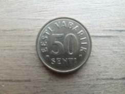 Estonie  50  Senti  2004  Km 24 - Estonia