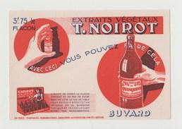 BUVARD T. NOIROT , EXTRAITS VEGETAUX - Liquor & Beer