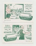 BUVARD PALMOLIVE Le Savon De Toilette - LOT DE 2 BUVARDS - Perfume & Beauty